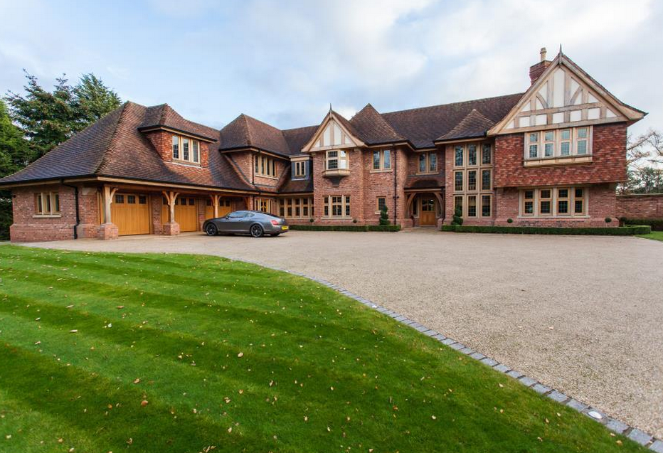 Stately brick mansion in cheshire england homes of the rich for 7 bedroom house for sale in california