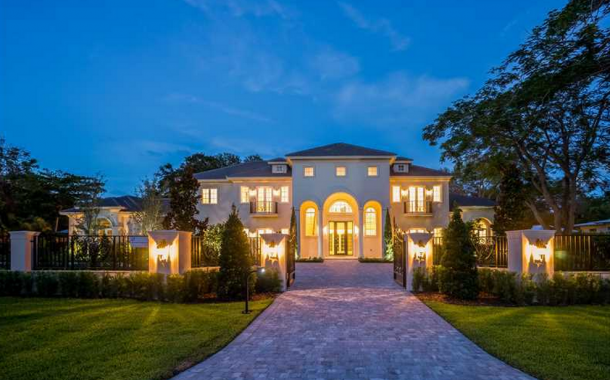 Chateau Marseille – A Newly Built 11,000 Square Foot Mansion In Pinecrest, FL