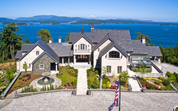 Eagle's Nest – A $25 Million Waterfront Estate In Friday Harbor, WA