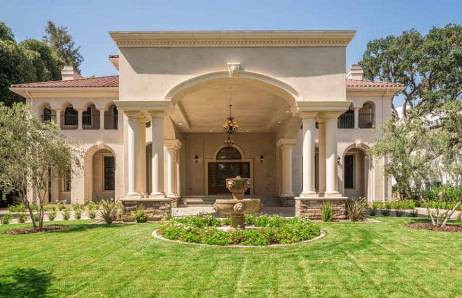 Palazzo Lombardy - A $19 Million Newly Built Mediterranean Mansion In Pasadena, CA