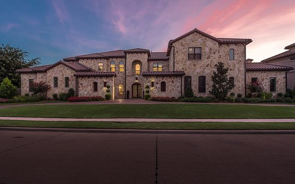 $2.65 Million Stone Home In Frisco, TX