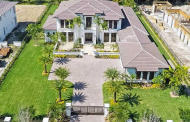 $5.15 Million Newly Built Mansion In Pinecrest, FL