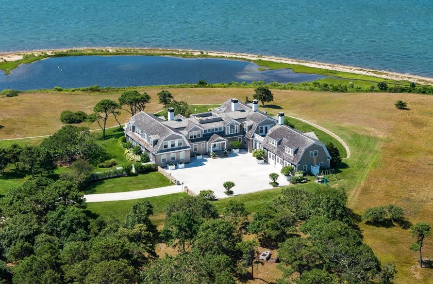$20 Million Waterfront Mansion In Edgartown, MA