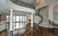 $2.9 Million Mansion In Atlanta, GA With 2-Story Indoor Swimming Pool