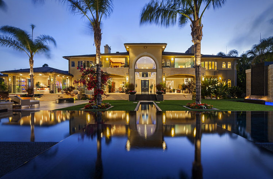 Million 17 000 square foot mansion in san diego for California million dollar homes