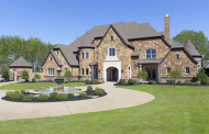 9,000 Square Foot English Inspired Stone Mansion In Southlake, TX