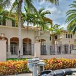 7 95 Million Mediterranean Waterfront Mansion In Boca