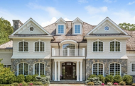 $3.5 Million Stone & Shingle Mansion In New Canaan, CT