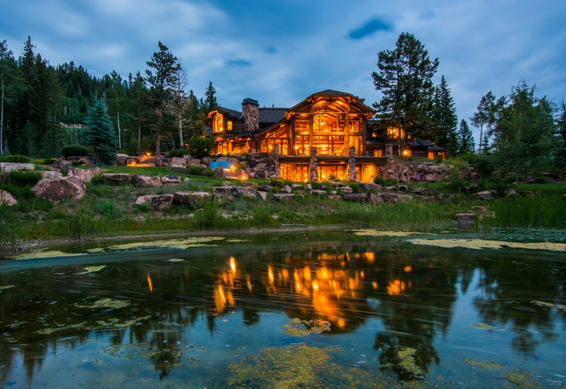 $19.95 Million Mountaintop Mansion In Park City, UT