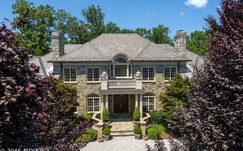 12,000 Square Foot Stone Mansion In McLean, VA