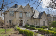 $3.395 Million French Inspired Brick & Stone Home In Glencoe, IL
