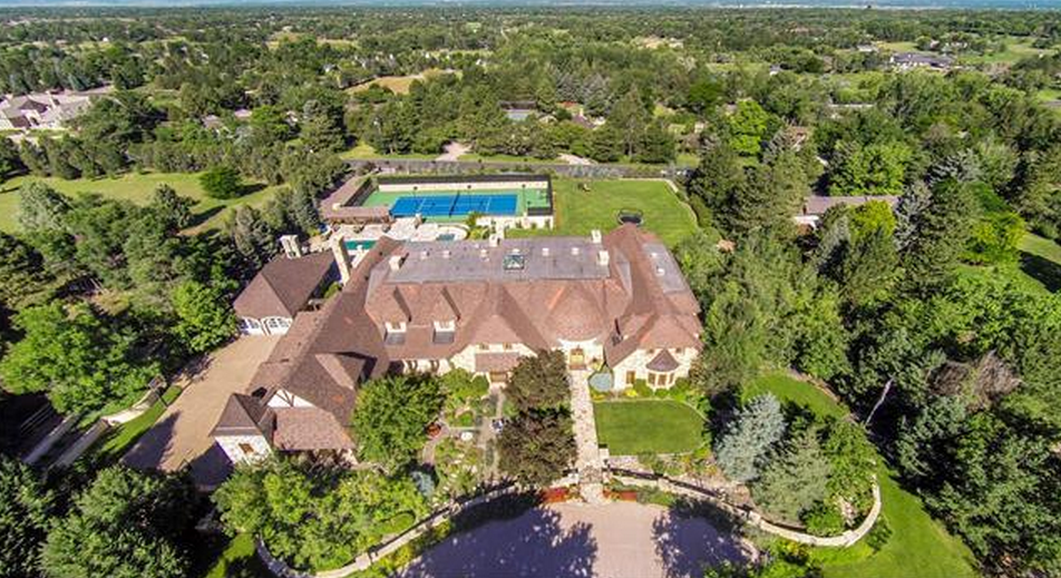 21,000 Square Foot French Inspired Stone Mansion In Cherry Hills Village, CO Re-Listed