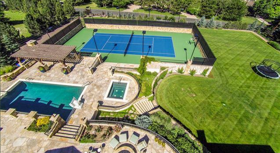 21000 Square Foot French Inspired Stone Mansion In Cherry Hills