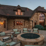 Rear Exterior w/ Firepit