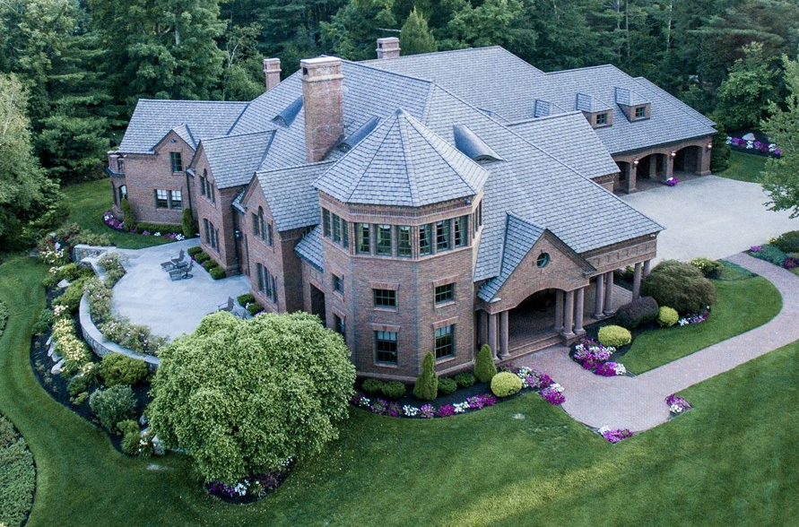 5 Million 12 000 Square Foot Brick Mansion In