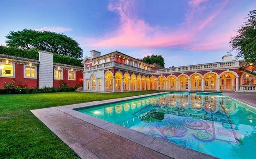 $29 Million Mediterranean Mansion In Beverly Hills, CA