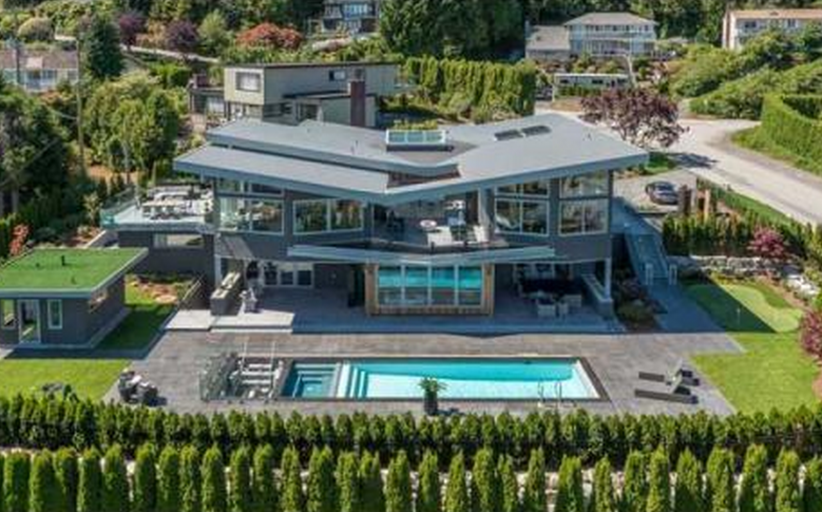 $10.8 Million Newly Built Contemporary Mansion In West Vancouver, Canada
