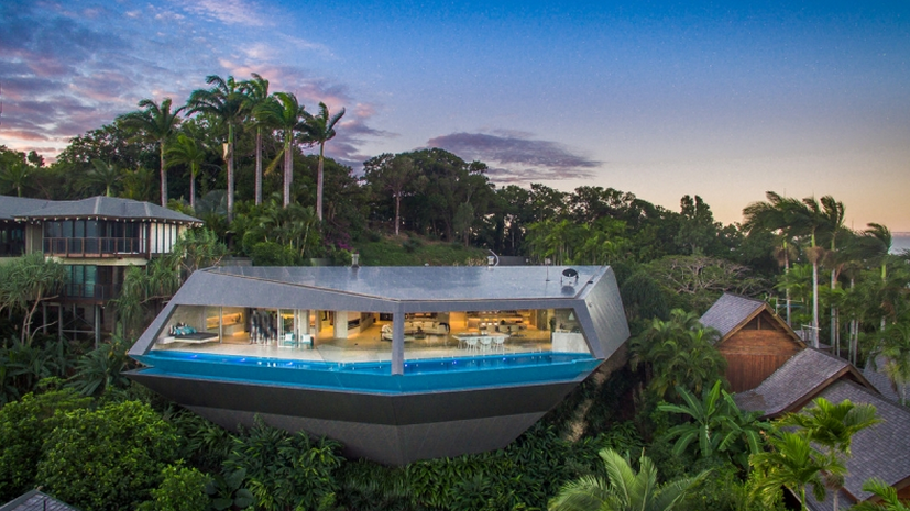 The Edge – A Newly Built Contemporary Home In Queensland, AU