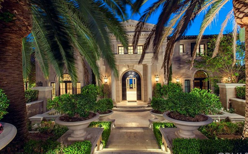 Heather & Terry Dubrow's Former Newport Coast Mansion Re-Listed