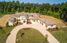 12,000 Square Foot Newly Built Mediterranean Inspired Mansion In Durham, NC