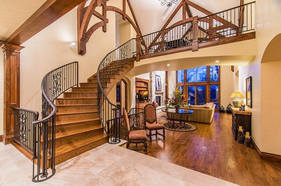4 495 Million English Tudor Style Brick Mansion In Greenwood Village Co Homes Of The Rich