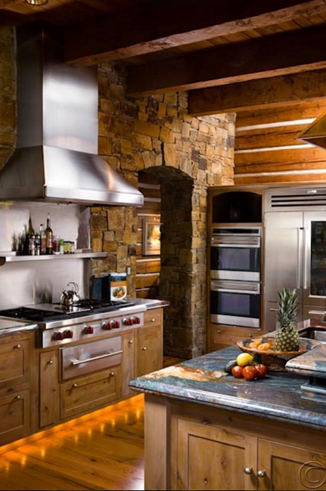The 70 000 Dream Kitchen Makeover: A $13 Million Custom Pioneer Log Home In