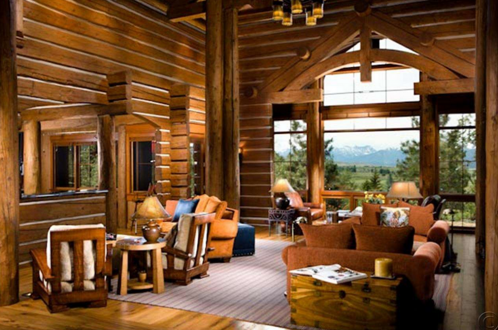 The Tunken A 13 Million Custom Pioneer Log Home In