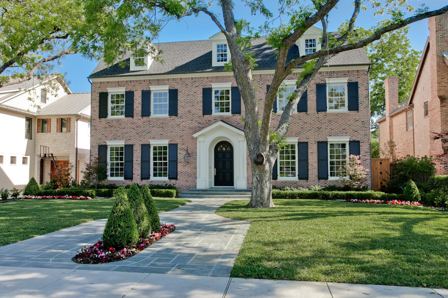 20 Beautiful Brick Homes Homes Of The Rich
