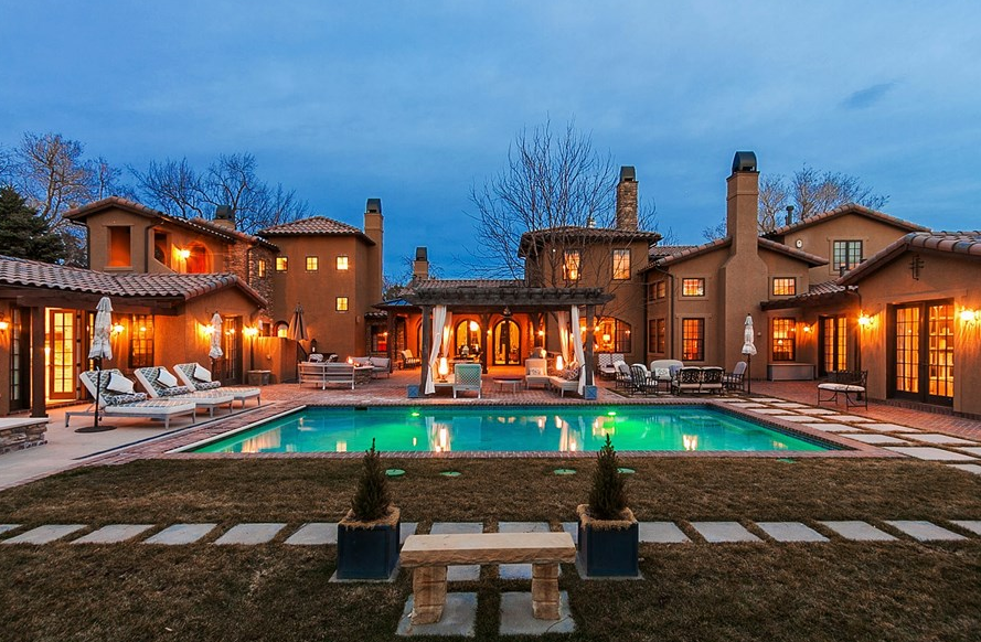 Cherry Hills Village (CO) United States  city pictures gallery : 35 Million Tuscan Inspired Mansion In Cherry Hills Village, CO ...