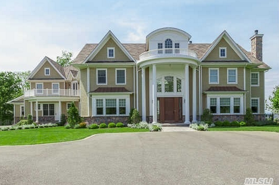 $4.9 Million Newly Built Colonial Style Waterfront Home In Nissequogue, NY