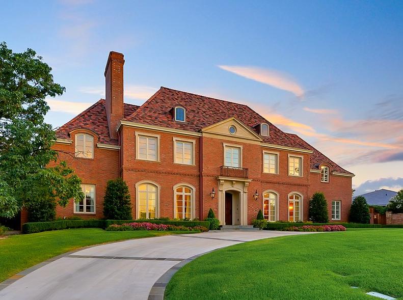 $3.75 Million Brick Home In Westover Hills, TX