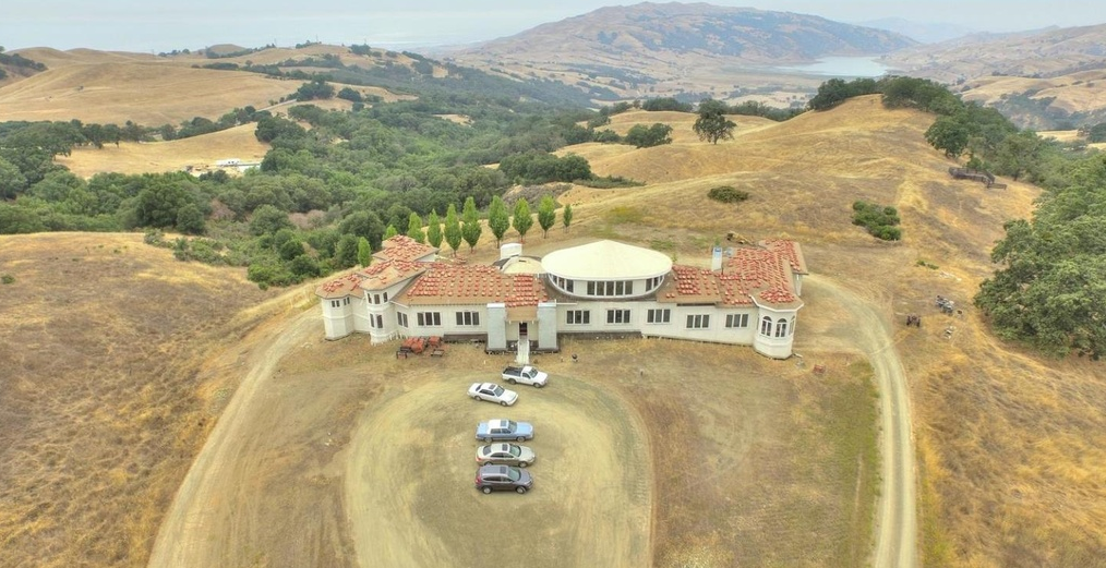 15,000 Square Foot Newly Built Hilltop Mansion On 52 Acres In San Jose, CA