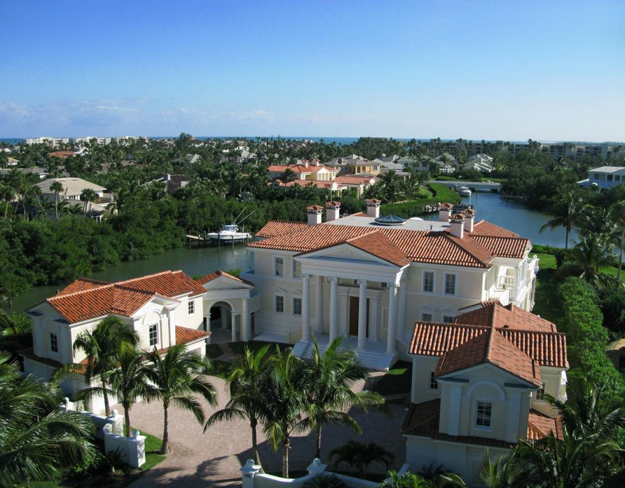 $4.9 Million Newly Built Palladian Style Waterfront Mansion In Stuart, FL