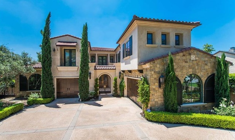 $3.98 Million Stone & Stucco Home In Arcadia, CA