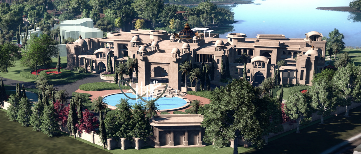 Update On An 85,000 Square Foot SUPER MANSION Under
