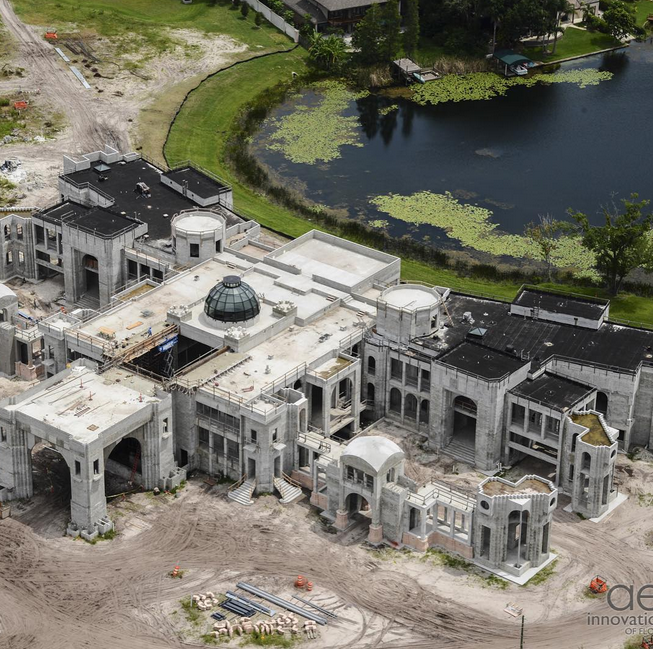Update On An 85 000 Square Foot Super Mansion Under