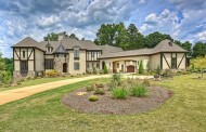 Tudor Style Stone & Stucco Mansion In Davidson, NC For Under $2 Million