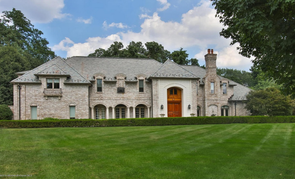 $2.4 Million French Country Inspired Mansion In Colts Neck, NJ
