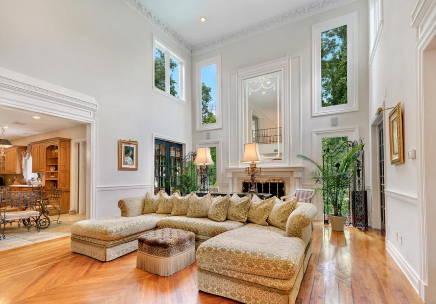 2 4 Million French Country Inspired Mansion In Colts Neck