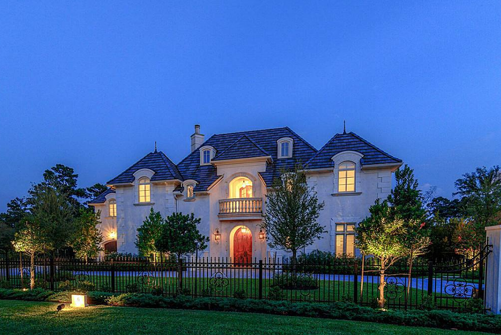 $2.995 Million French Inspired Home In The Woodlands, TX
