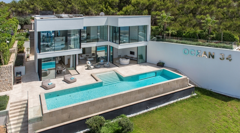 €11.9 Million Modern Waterfront Home In Spain | Homes of the Rich