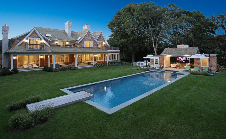 12 995 Newly Built Shingle Style Mansion In East Hampton