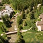 Main & Guest House Aerial