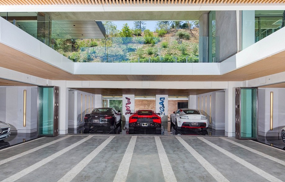 Cars For Sale Los Angeles >> $22.9 Million Newly Built Modern Mansion In Los Angeles ...
