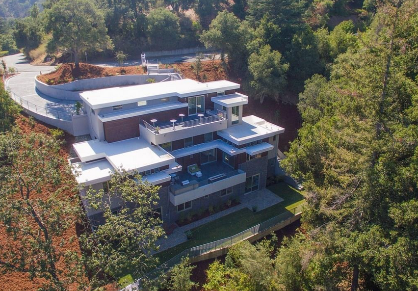 $4.9 Million Newly Built Contemporary Home In Saratoga, CA