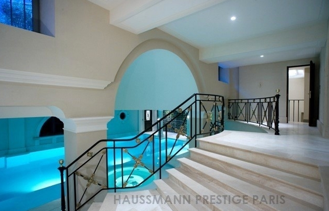 Mansions With Indoor Pools 16,000 square foot historic mansion in paris, france | homes of