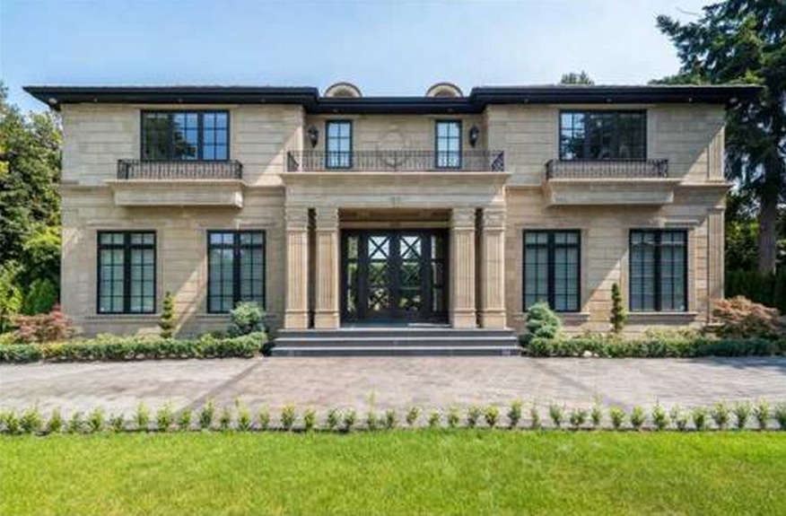 $8.8 Million Newly Built Mansion In Vancouver, Canada