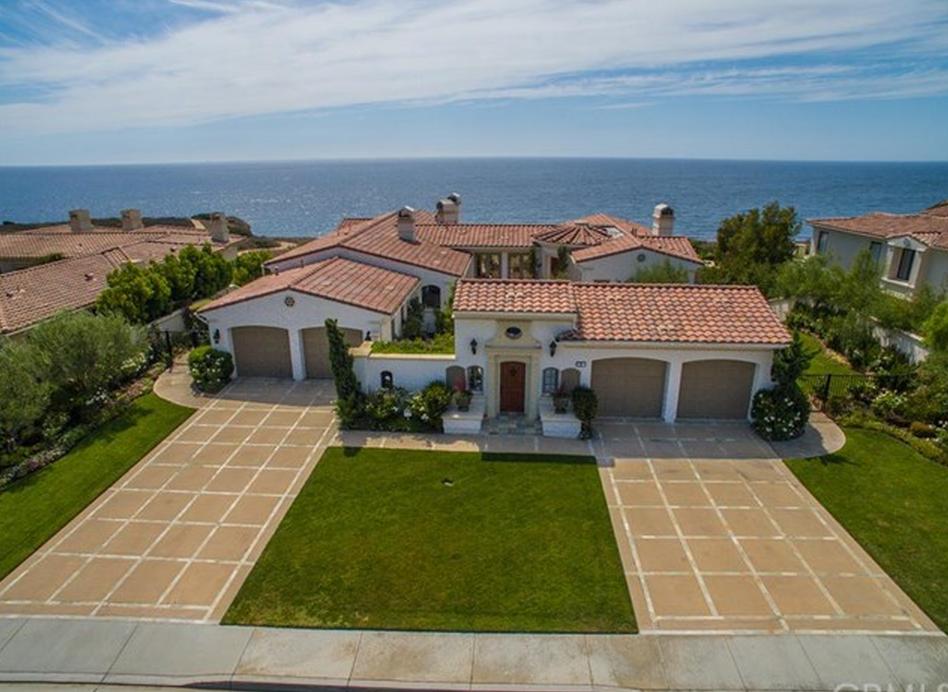 $5.5 Million Mediterranean Home In Rancho Palos Verdes, CA
