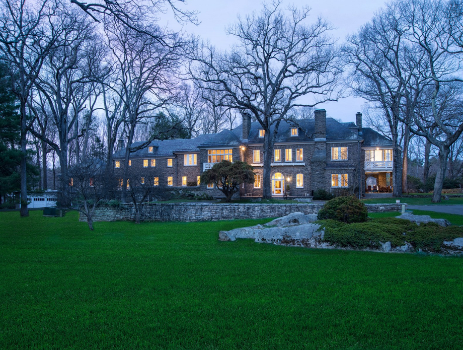 $14 Million English Manor Inspired Stone Mansion In Greenwich, CT
