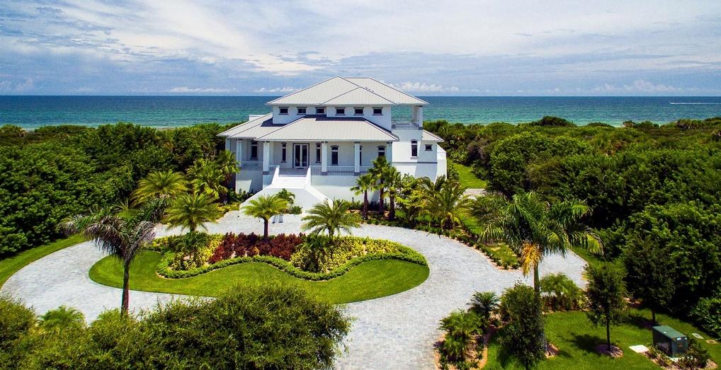 $8.9 Million Newly Built Oceanfront Home In Vero Beach, FL